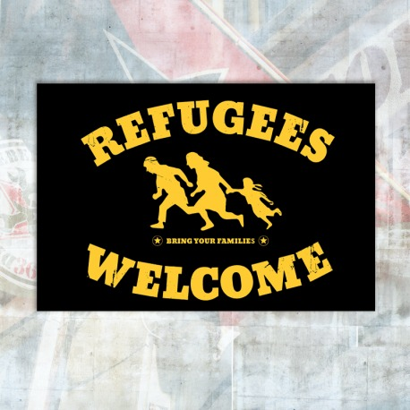 Refugees Welcome Flag