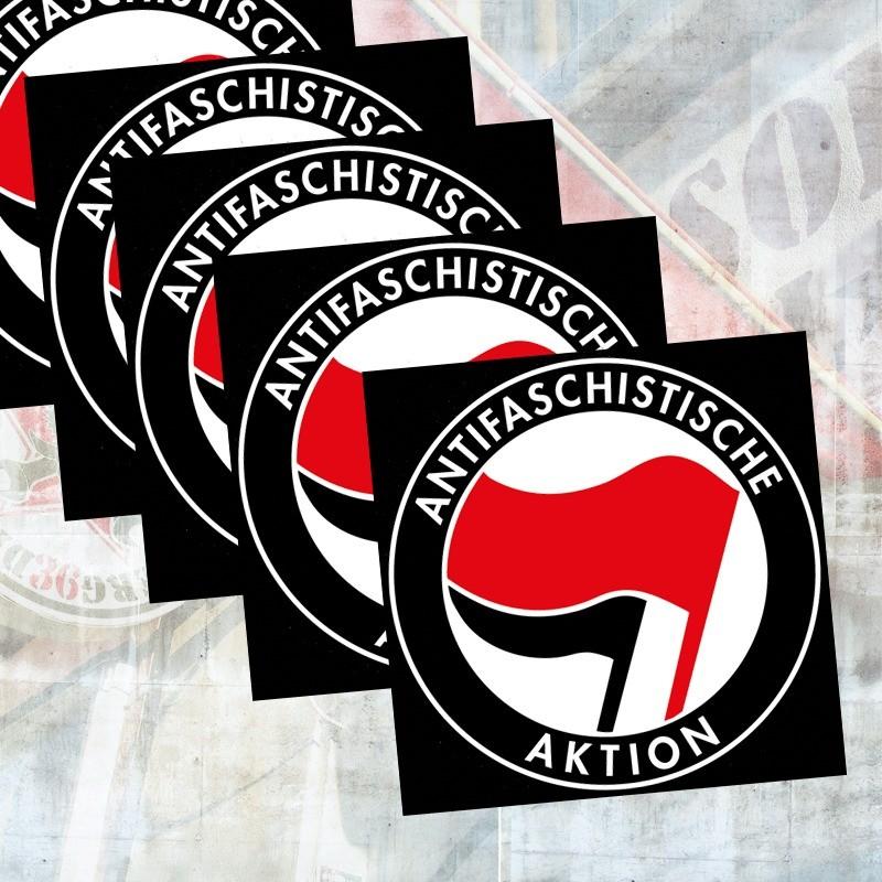 Aufkleber Antifaschistische Aktion