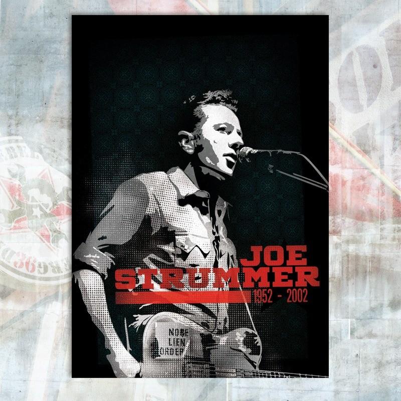 Pstcard Joe Strummer