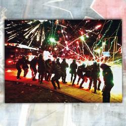 Napoli Riot Poster
