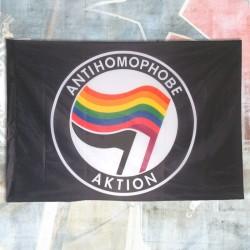 Antihomophobe Aktoin Flagge