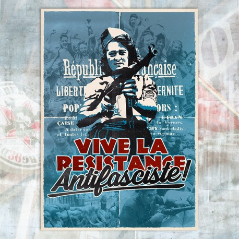 Resistance Antifasciste Poster