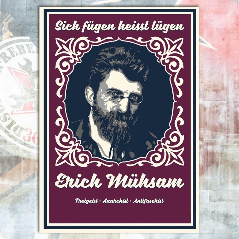 Erich Mühsam Postcard