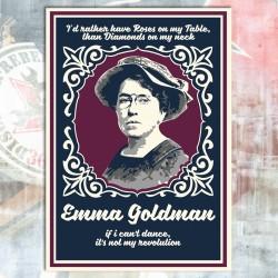 Emma Goldman Postcard