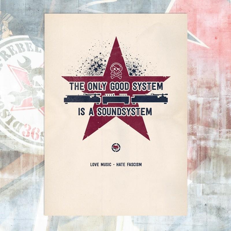 Soundsystem Poster